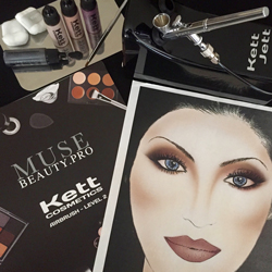 Kett Advanced Airbrush Makeup Classes